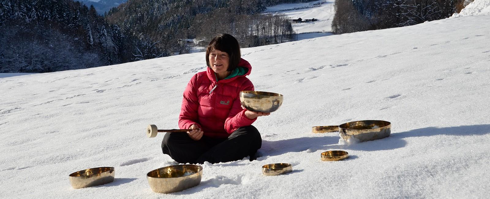 Gesundheitstraining Klangschalentherapie Berchtesgaden