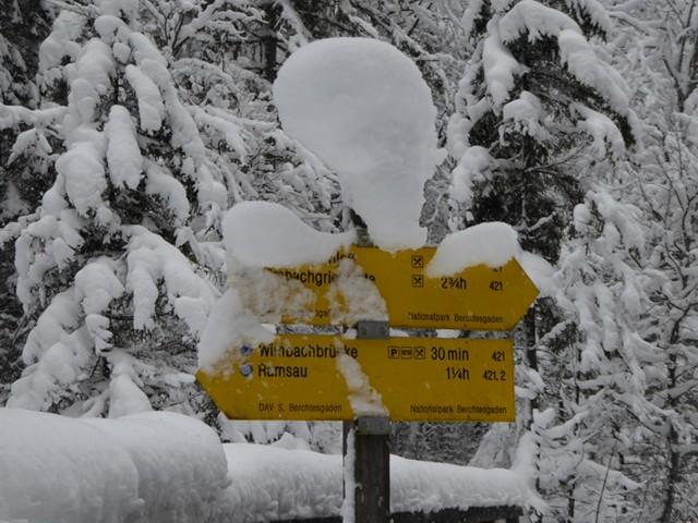 Schneeschuhwandern Berchtesgadener Land